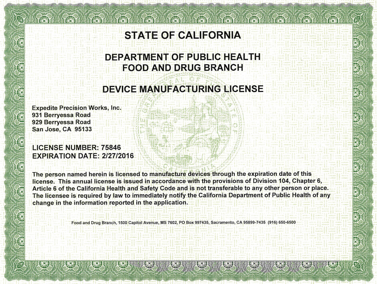 Our clients our device manufacturing license platinumwayz